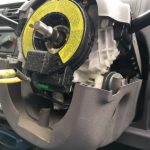 EKワゴン H81W SRS警告灯修理 SRSエアバックランプ