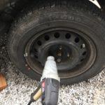 新品タイヤを1シーズン使ってみてタイヤローテーションの大切さを知る