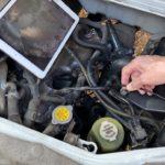 エンジン内部を撮影して、本当に燃料添加剤が効いたのかをチェック!短期間なのに驚き
