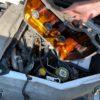 走行距離11万オーバー、異音のするエンジンのヘッドカバーを開けてパッキン交換してみた