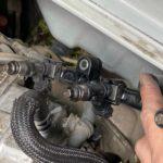 11万kmエンジンのインジェクター外して吸気ポートを撮影!吸気ポートが汚れる理由は何?