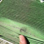 エアコンフィルターはエアコンのガス漏れを防ぐ!2年使用したフィルターの状態