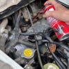 即効性が強いカーボン落としは、エンジンコンディショナーの直噴射!作業をきちんとやれば驚きの効果が