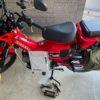 新車で買ったハンターカブ CT125の越冬準備!バイクの冬はどうやって保管する?