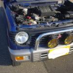 走行中エンジンが停止するパジェロミニの原因は、配線のショート!オーナーは気を付けて