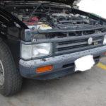 ガソリンが腐ってしまうと最終的にはこのようになる!バックファイヤを起こしたテラノ