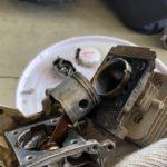 壊れた草刈り機を分解してみた!2ストエンジン分解・故障の原因は?