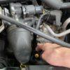 エンジンオイル消費の激しい車にワコーズのEPSを添加後500km走行時点の状態確認