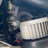 走行12万キロオーバーの7万円台で買った車のエアコンユニットの中をカメラで撮影してみたら・・
