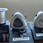 マツダのロータリー型おむすびケースとファンネル型カップホルダーを買ってみた